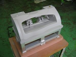 自動車部品(グローブボックス)検査治具